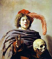 180px-Frans_Hals,_Young_Man_with_a_Skull_(Vanitas)